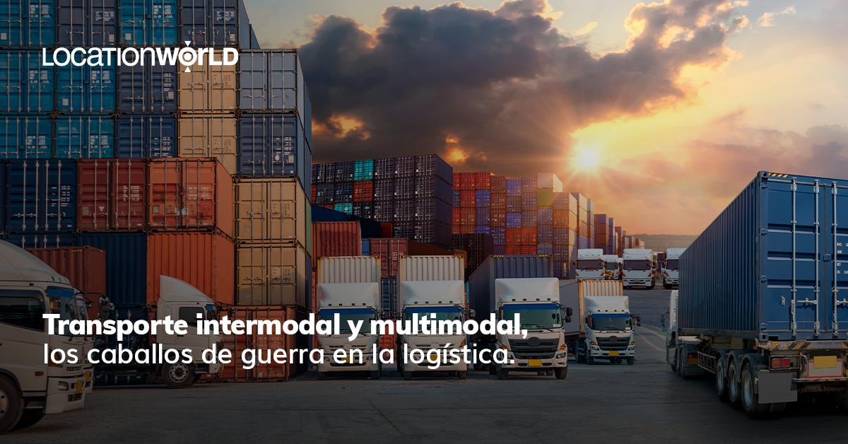 transporte intermodal logistica