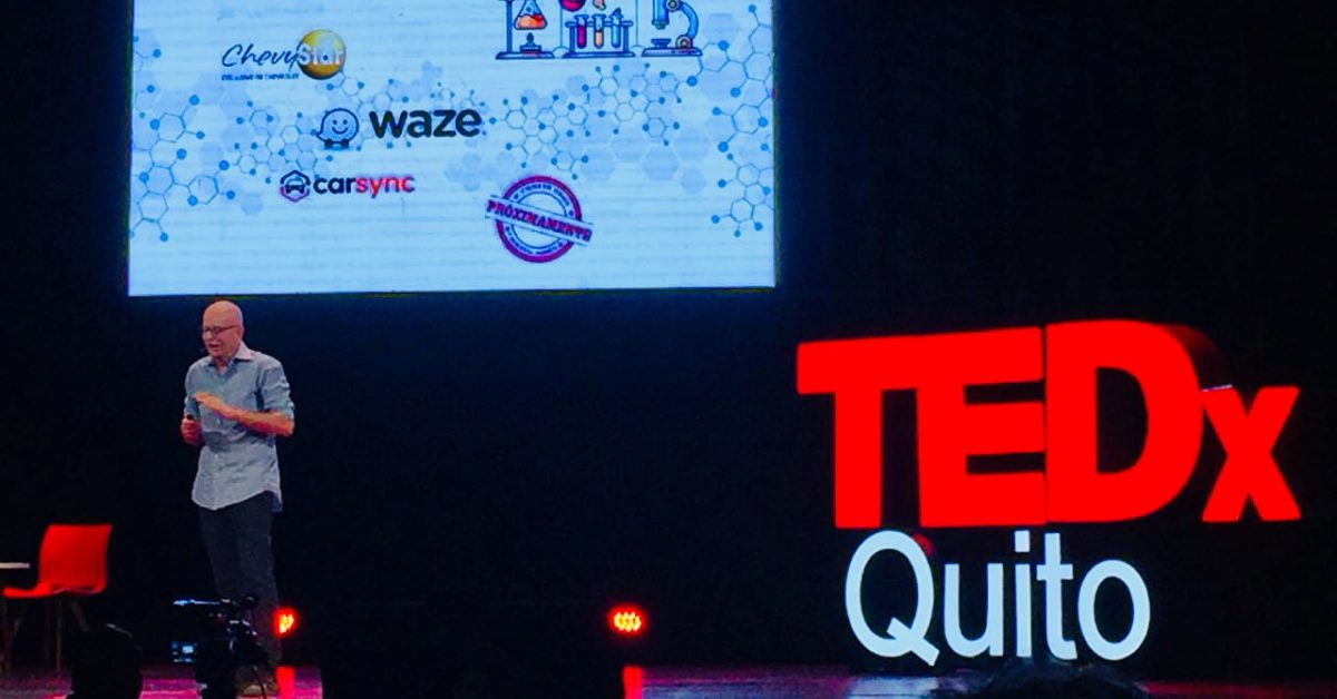 """""""Entrepreneurship is Not a Matter of Money, It Is a Way of Life"""" TEDx Quito"""